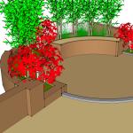 Resin Garden Drawing