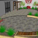 Ashbourne Garden Drawing