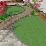 Drumcondra Garden Drawing
