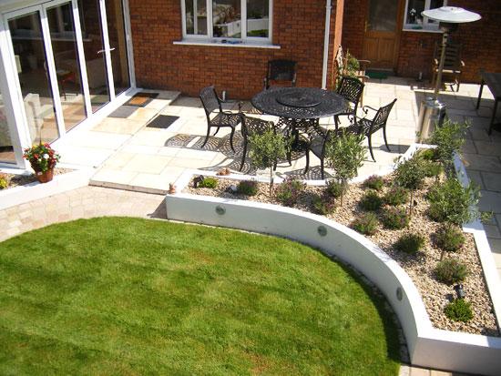 Ratoath garden project for Rear garden designs