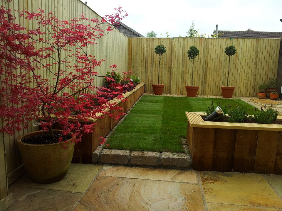 Low budget garden design for Garden designs on a budget