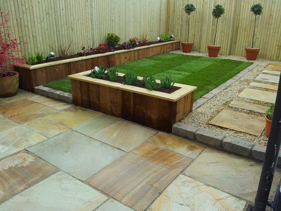 Low budget garden design for A garden design