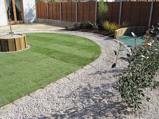 Finglas child friendly garden design for Child friendly garden designs