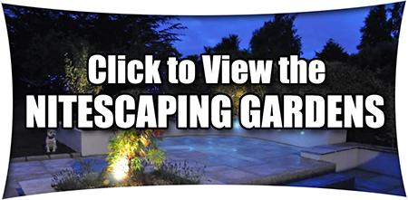 Gardens at night - Nitescaping Garden Design